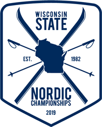 Wisconsin Nordic Ski League Logo