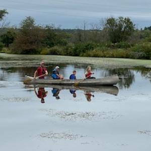 Canoeing at the Otter Den, Blackhawk Ski Club